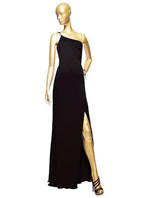 Versace Kadınlar Asimetrik Uzun Elbise