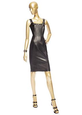 Versace Bayan Deri Curve-Şekillendirici Elbise