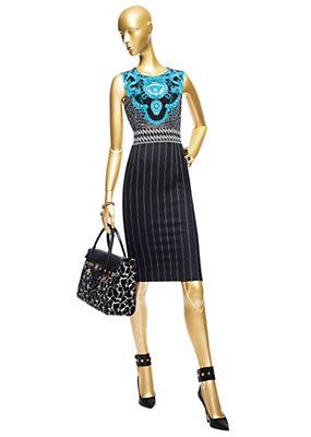 Versace Kadınlar Vintage Timsah Elbise