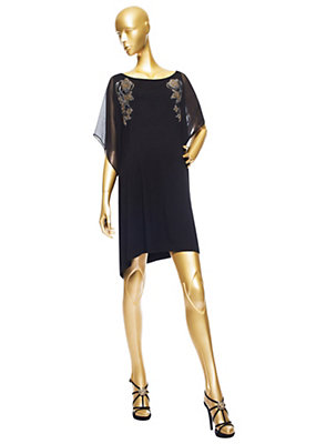 Versace Süslenmiş Jersey Dress