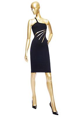 Versace Kadınlar Tek Askı Kokteyl Elbise