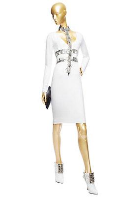Versace Kadınlar Süslenmiş Tack Elbise