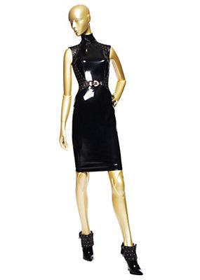 Versace Kadınlar Vinil Tack Elbise