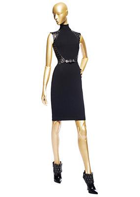 Versace Kadınlar Çivili Kuşaklı Elbise