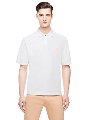 Versace Men Medusa Polo Shirt