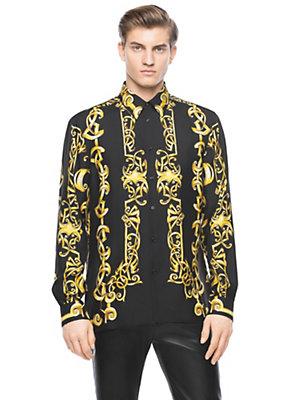 Versace Barocco Heritage print shirt