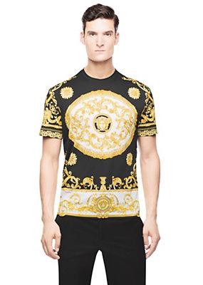 Versace Men Men Iconic Barocco Medusa T-Shirt