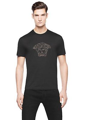Versace Men Men Iconic Medusa T-Shirt
