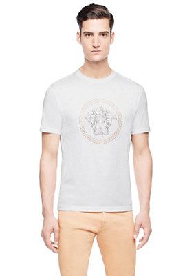 Versace Men Men Classic Medusa printed T-shirt