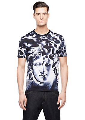 Versace Men Baroque Printed T-Shirt