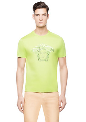 Versace Men Medusa Cotton T-Shirt