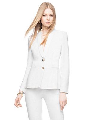 Versace Women Cinched Silk Blazer