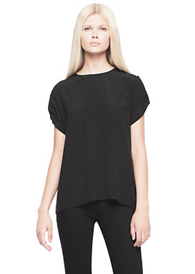 Versace Button Side Sleeve Blouse