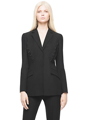 Versace Women Silk jacket Swarovski embroideries