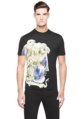 Versace Men Men Medusa Graphic Print T-Shirt