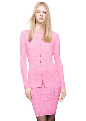 Versace Women Knit #GREEK Cardigan