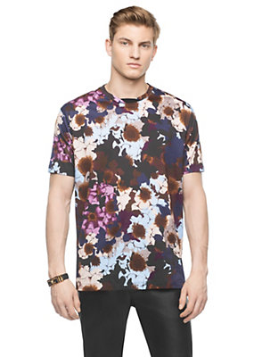 Versace Men Flowerflage T-Shirt