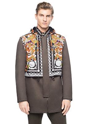Versace Men Men Floral Barocco Jacket