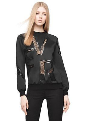 Versace Versace Neoprene sweatshirt