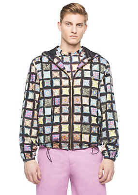 Versace Men Men Cuscini Print Jacket