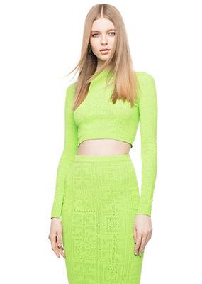 Versace Women Seamless lace Greca key sweater