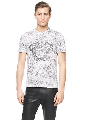Versace Men Men Medusa Embellished Barocco T-Shirt