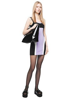 Versace Women Compact Jersey Colour-Block Dress