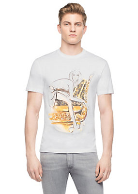 Versace Men Archive DV Print T-Shirt