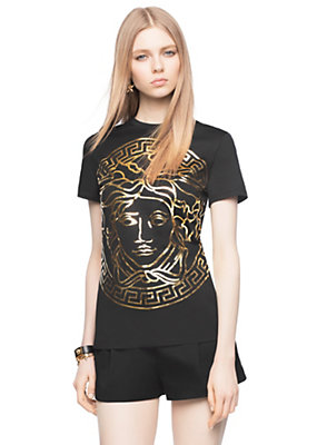 t shirt versace femme. Black Bedroom Furniture Sets. Home Design Ideas