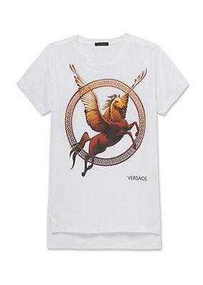 Versace Lil Buck V-Neck T-Shirt