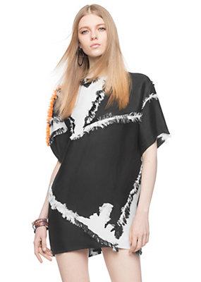 Versace Women Fringed Silk Blend Top