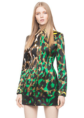 Versace Women Wild Patch Print Jacket