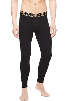 Versace Men Cotton Long Johns