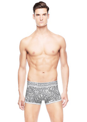 Versace Men Medusa Head Print Boxer Brief