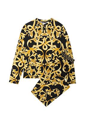 Versace Men Barocco Print Pyjamas