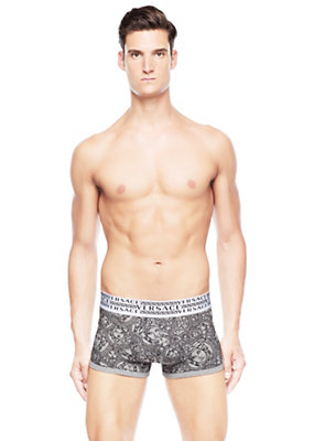Versace Men Olympus Print boxer brief