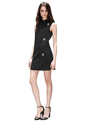 Versus Versace Women Lion Head Ring Mini-Dress