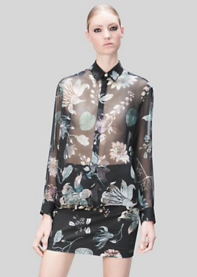 Versus Versace Women Acquarello Print Shirt