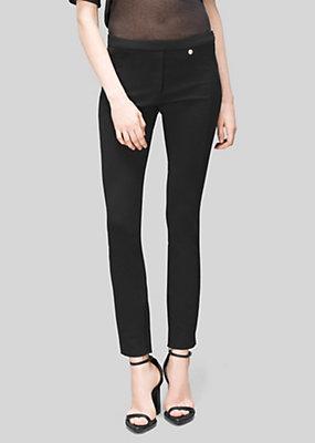 Versus Versace Women Stretch Jersey Trousers
