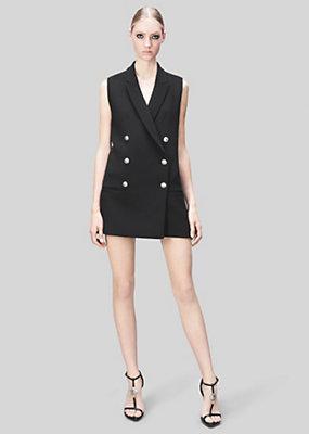 Versus Versace Women Double-Breasted Tailored Vest
