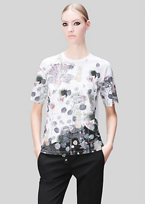Versus Versace Women Acquarello Printed T-shirt