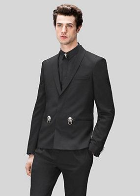 Versus Versace Men Wool jacket with studs