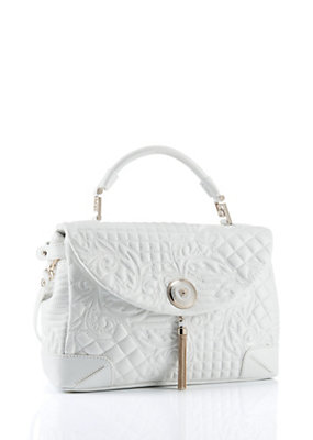 Versace Women Altea Quilted Barocco Vanitas Bag