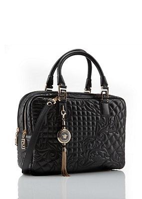 Versace Women Quilted Demetra Vanitas Bag