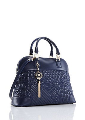 Versace Women Athena Quilted Barocco Vanitas Bag