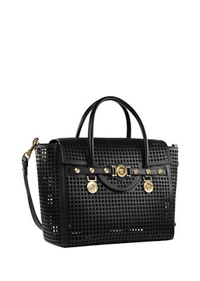 Versace Women Lasercut Signature bag