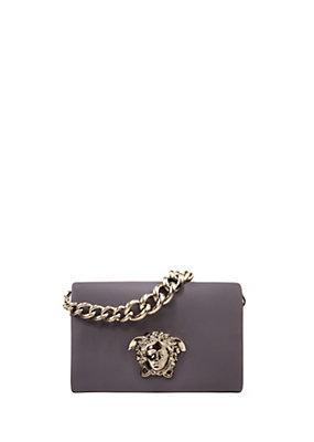 Versace Women Sultan Leather Shoulder Bag