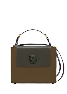 Versace Women Palazzo Leather Bag