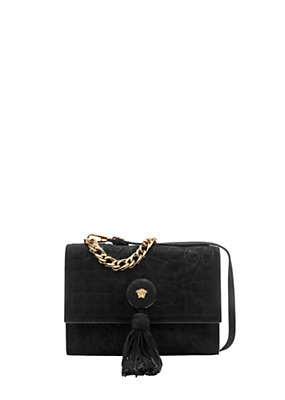 Versace Women Vanitas chain quilted bag