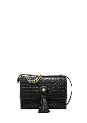 Versace Women Vanitas Leather Crossbody